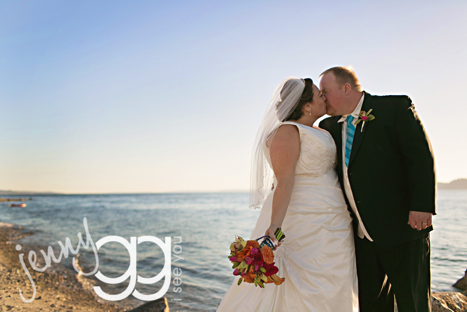 mukilteo lighthouse wedding by jenny gg