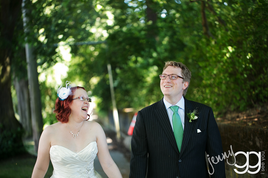 bride and groom at sanctuary at admiral