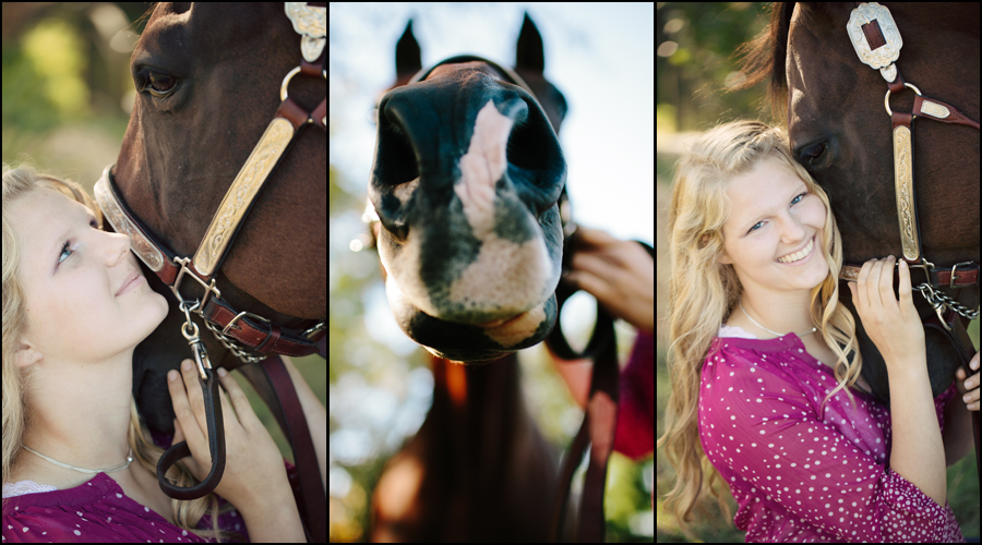 senior portraits with a horse by jenny gg 002
