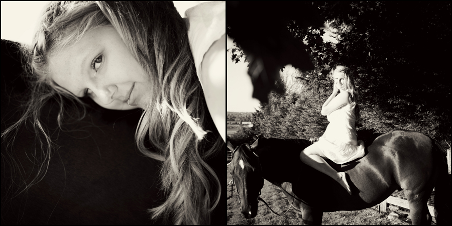 senior portraits with a horse by jenny gg 005