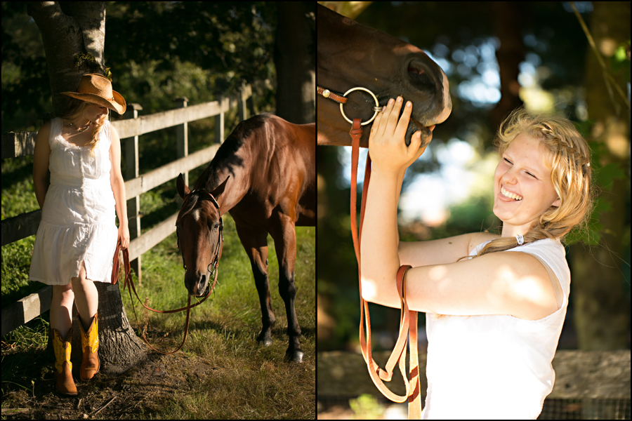 senior portraits with a horse by jenny gg 008