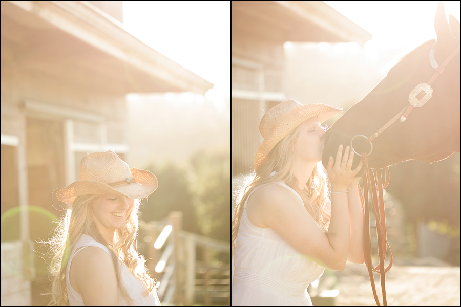 senior portraits with a horse by jenny gg 006