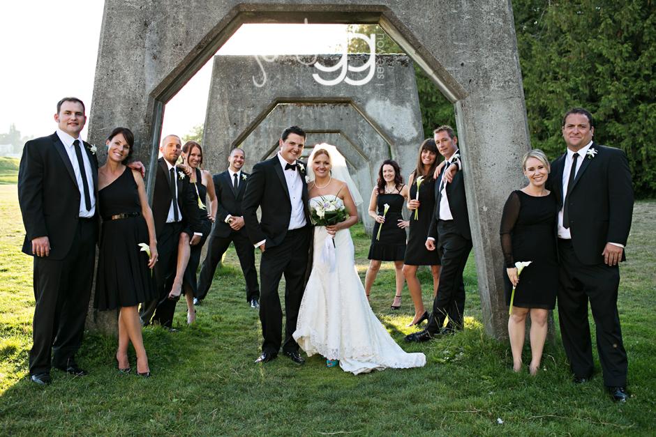 gasworks park wedding in seattle by jenny gg