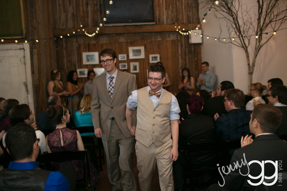 same sex wedding at sole repair by jenny gg 019