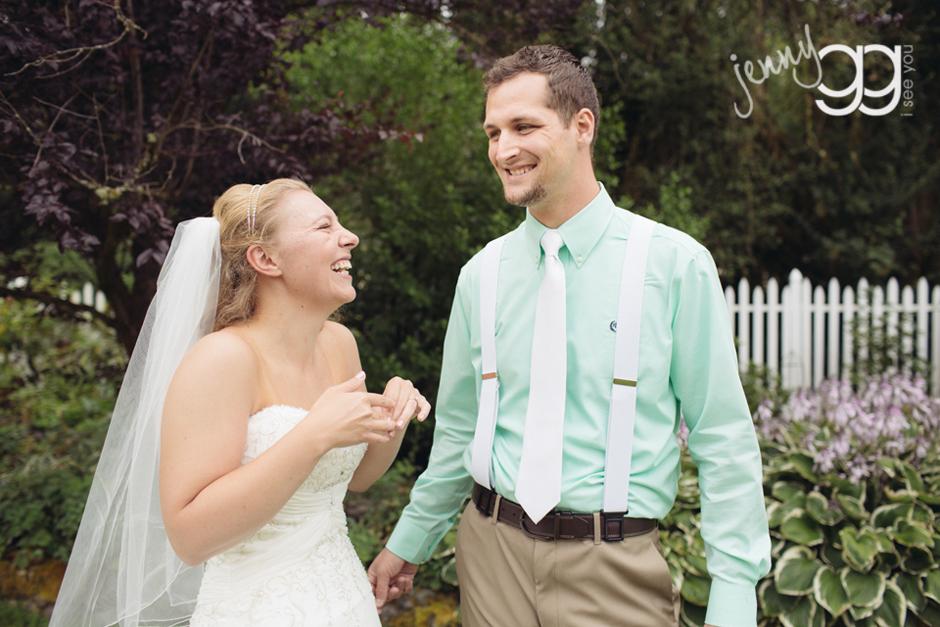 wedding sneak peek by jenny gg