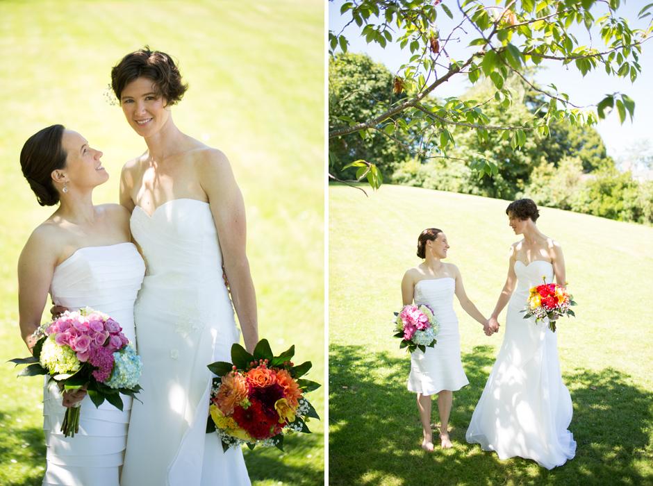 lesbian wedding, seattle, same sex 011