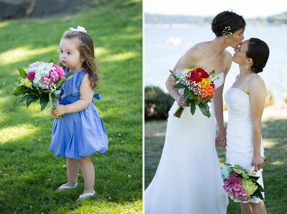 lesbian wedding, seattle, same sex 016