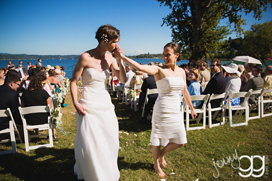 lesbian wedding, seattle, same sex 025