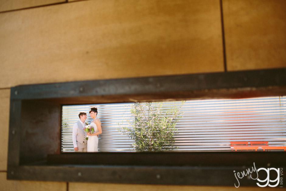 same sex wedding at within sodo
