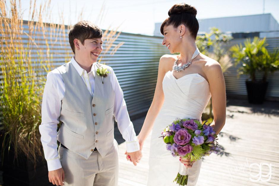 lesbian wedding by jenny gg