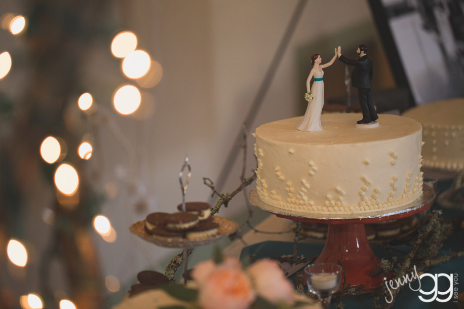 high fave wedding cake topper by jenny gg