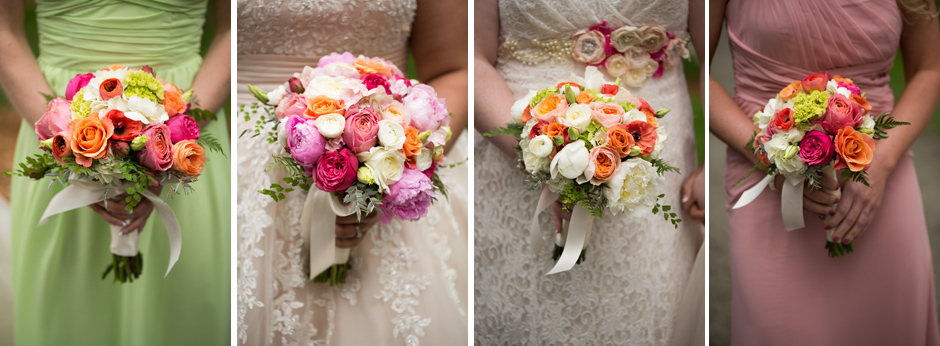 althauser bouquets at wedding
