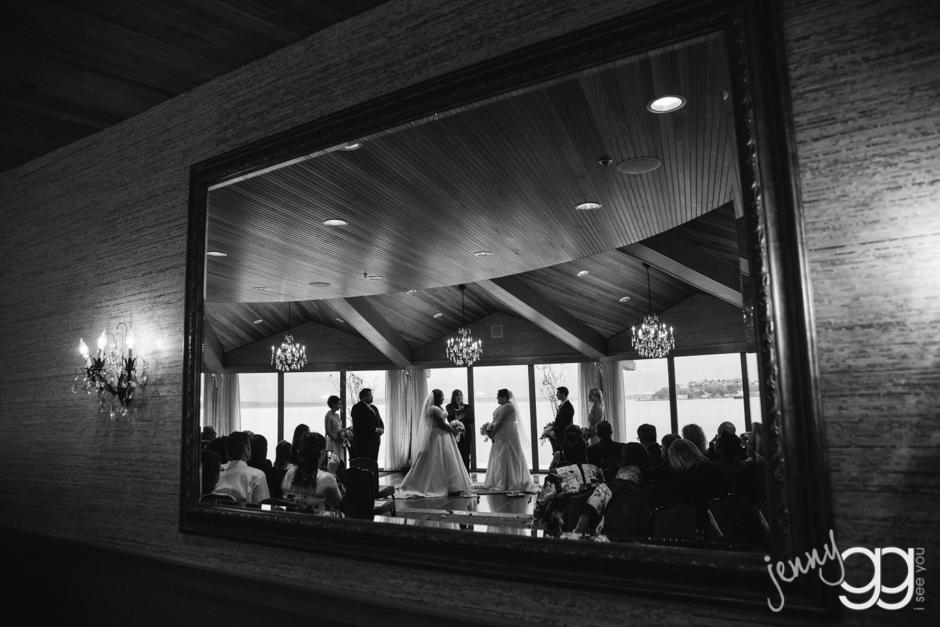 edgewater hotel ceremony by jenny gg