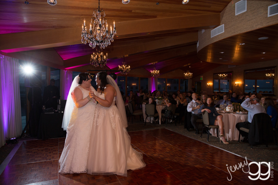 first dance for brides at edgewater