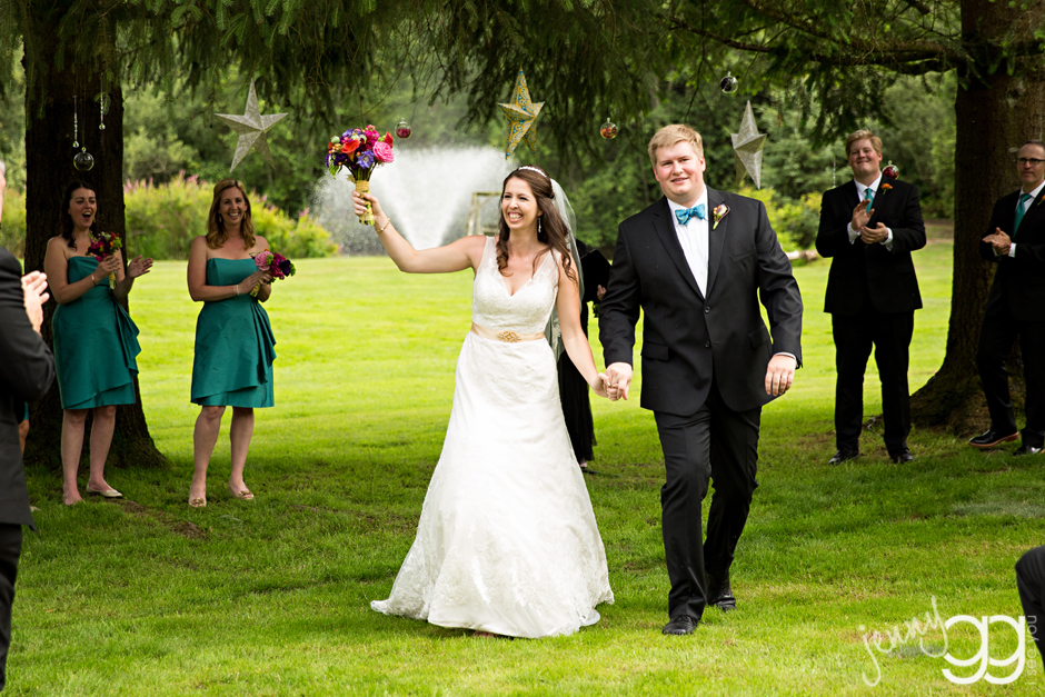 grand ridge manor, issaquah, wedding