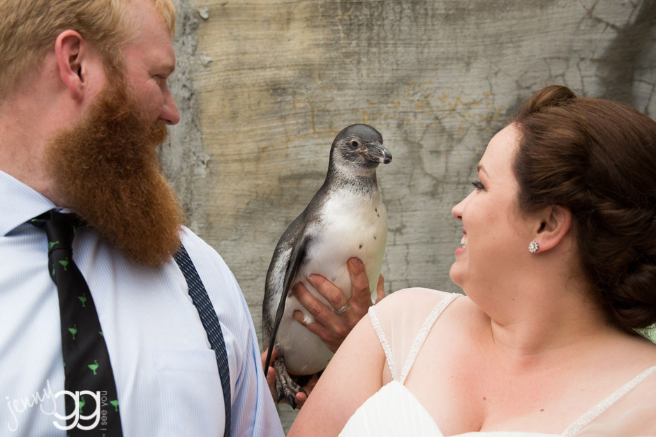 woodland zoo wedding by jenny gg