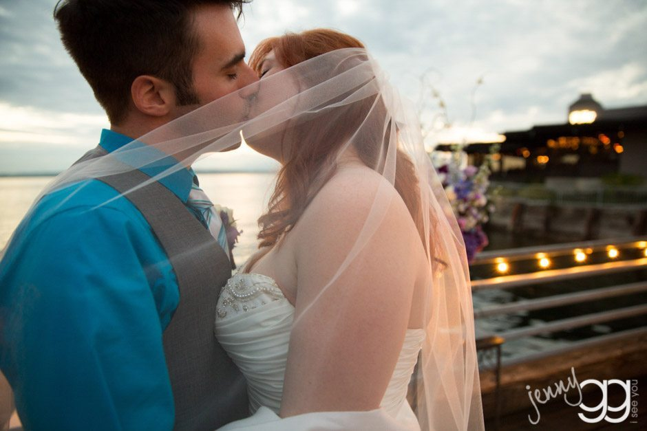 wedding at ray's boathouse in seattle by jenny gg