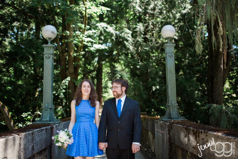 wedding, arboretum wedding, pike place market wedding, elaine way, jenny gg