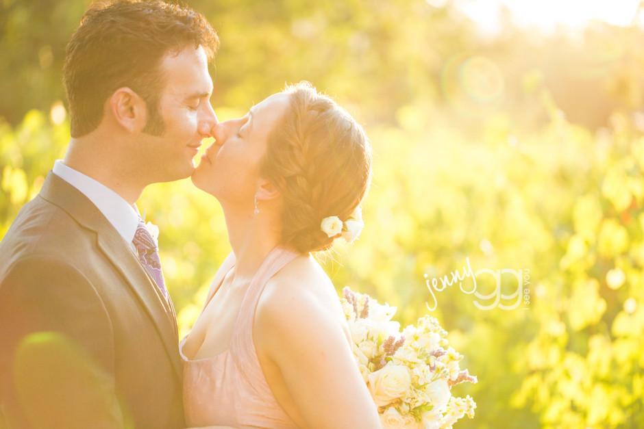 napa wedding by jenny gg
