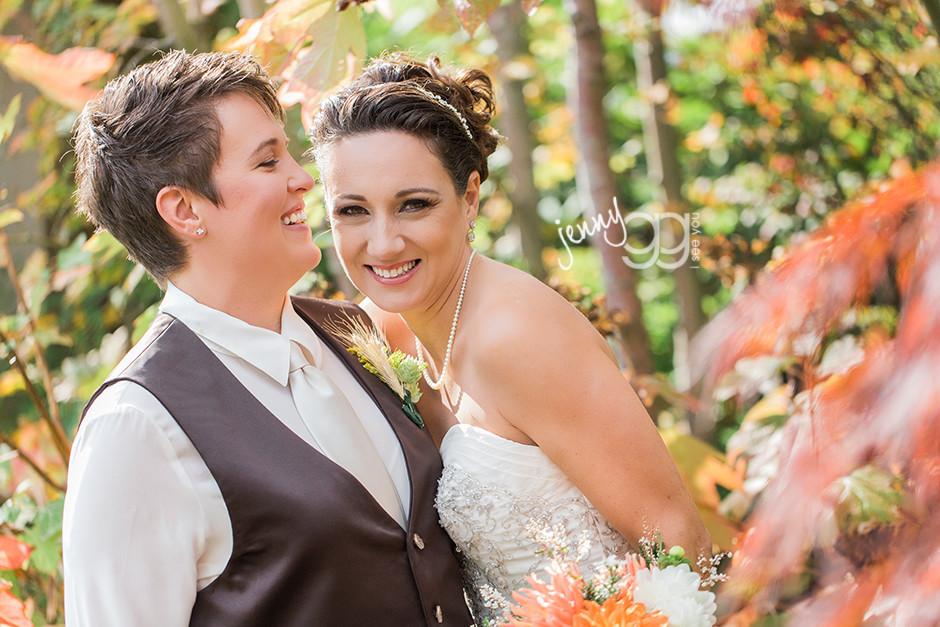 same sex wedding, lesbian wedding, jenny gg