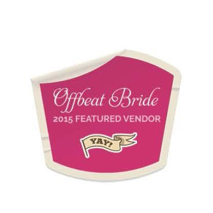 Offbeat Bride Featured Vendor 2017 - JennyGG