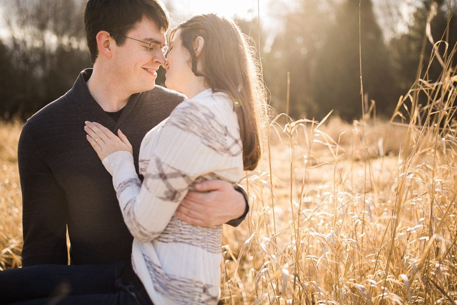 engagement session at marymoor park by jenny gg
