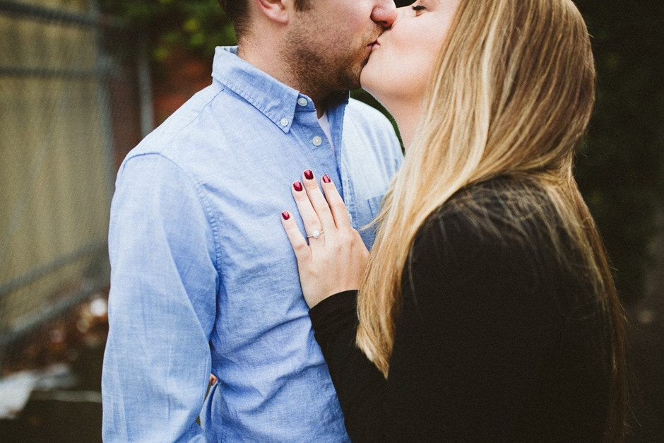 engagement session in seattle by jenny gg