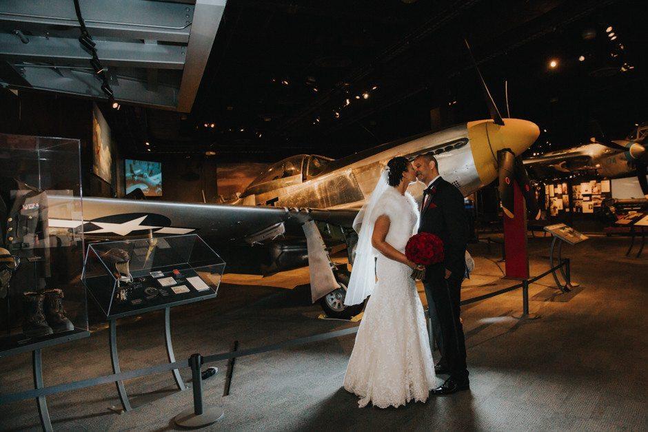 museum of flight wedding by jenny gg