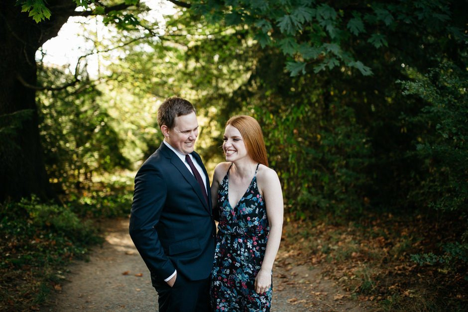 engagement session by jenny gg at discovery park