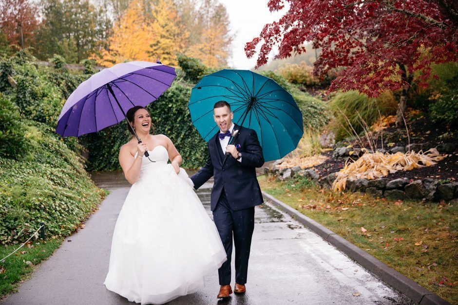 Wedding in lovely raining Seattle by JennyGG