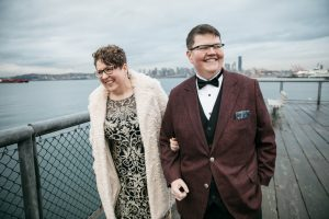 wedding at smith tower by jenny gg