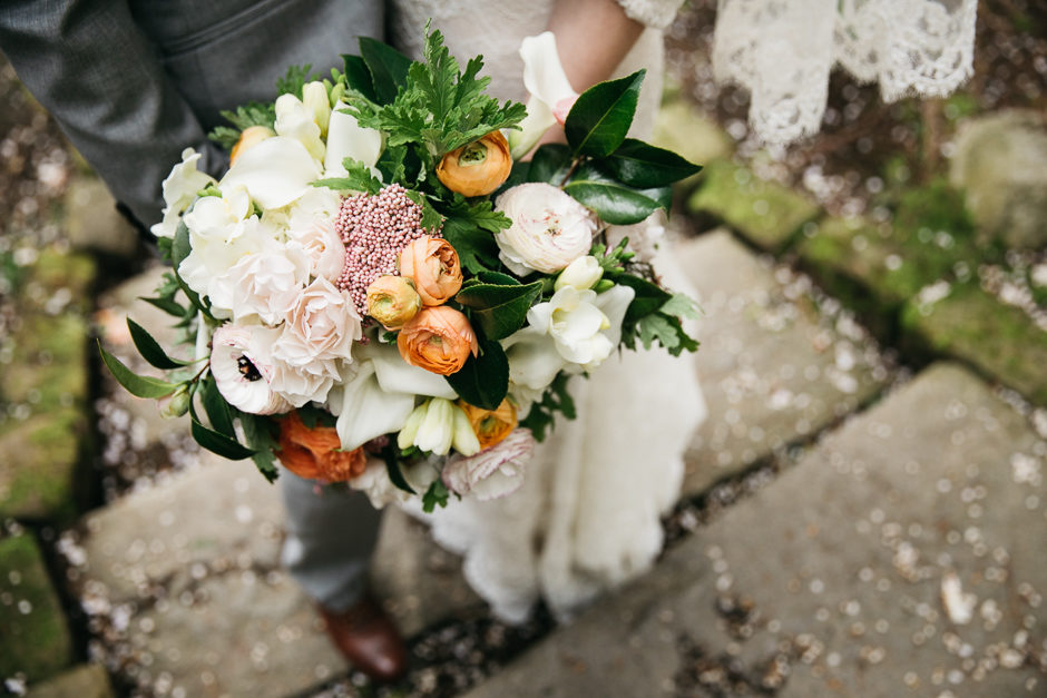 gorgeous bridal bouquet by floressence